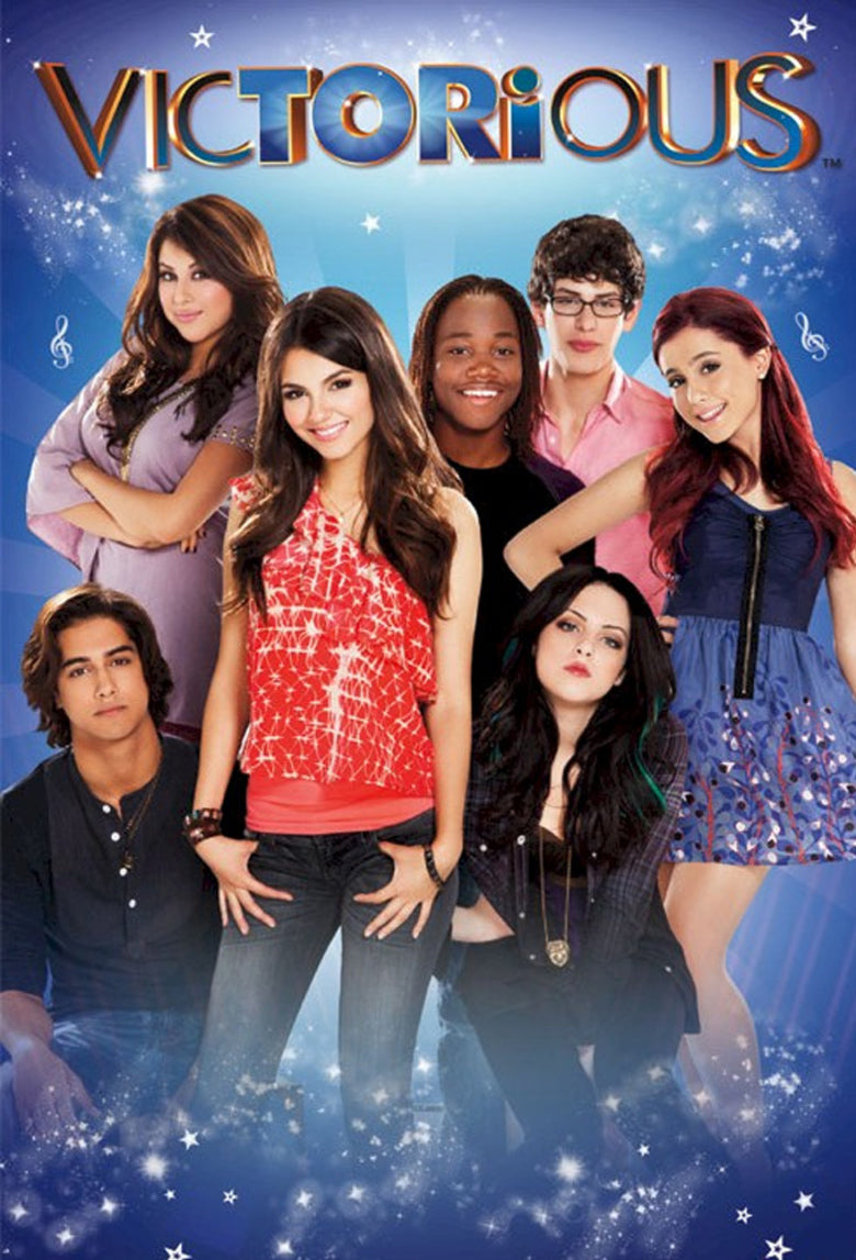 Victorious The Complete TV Series On DVD Nickelodeon [RETAIL/FANMADE]