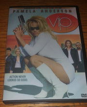 Load image into Gallery viewer, VIP V.I.P V I P 1998 Vallery Irons Protection The Complete Seasons 1,2 3 On 9 Dvd's Pamela Anderson