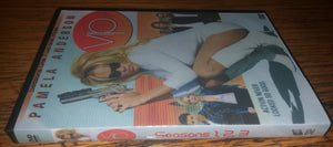 VIP V.I.P V I P 1998 Vallery Irons Protection The Complete Seasons 1,2 3 On 9 Dvd's Pamela Anderson RETAIL/FANMADE MIXED