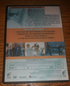 VIP V.I.P V I P 1998 Vallery Irons Protection The Complete Seasons 1,2 3 On 9 Dvd's Pamela Anderson