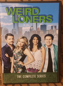 Weird Loners 2015 THE COMPLETE TV SERIES ON DVD Becki Newton Zachary Knighton Nate Torrence