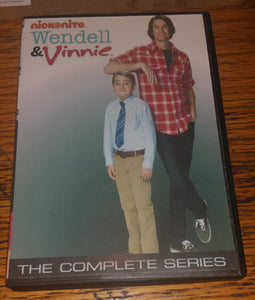 Wendell & Vinnie 2013 THE COMPLETE SERIES ON DVD Jerry Trainor Buddy Handleson