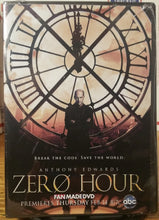 Load image into Gallery viewer, Zero Hour 2013 THE COMPLETE TV SERIES ON DVD Addison Timlin Scott Michael Foster Jacinda Barrett