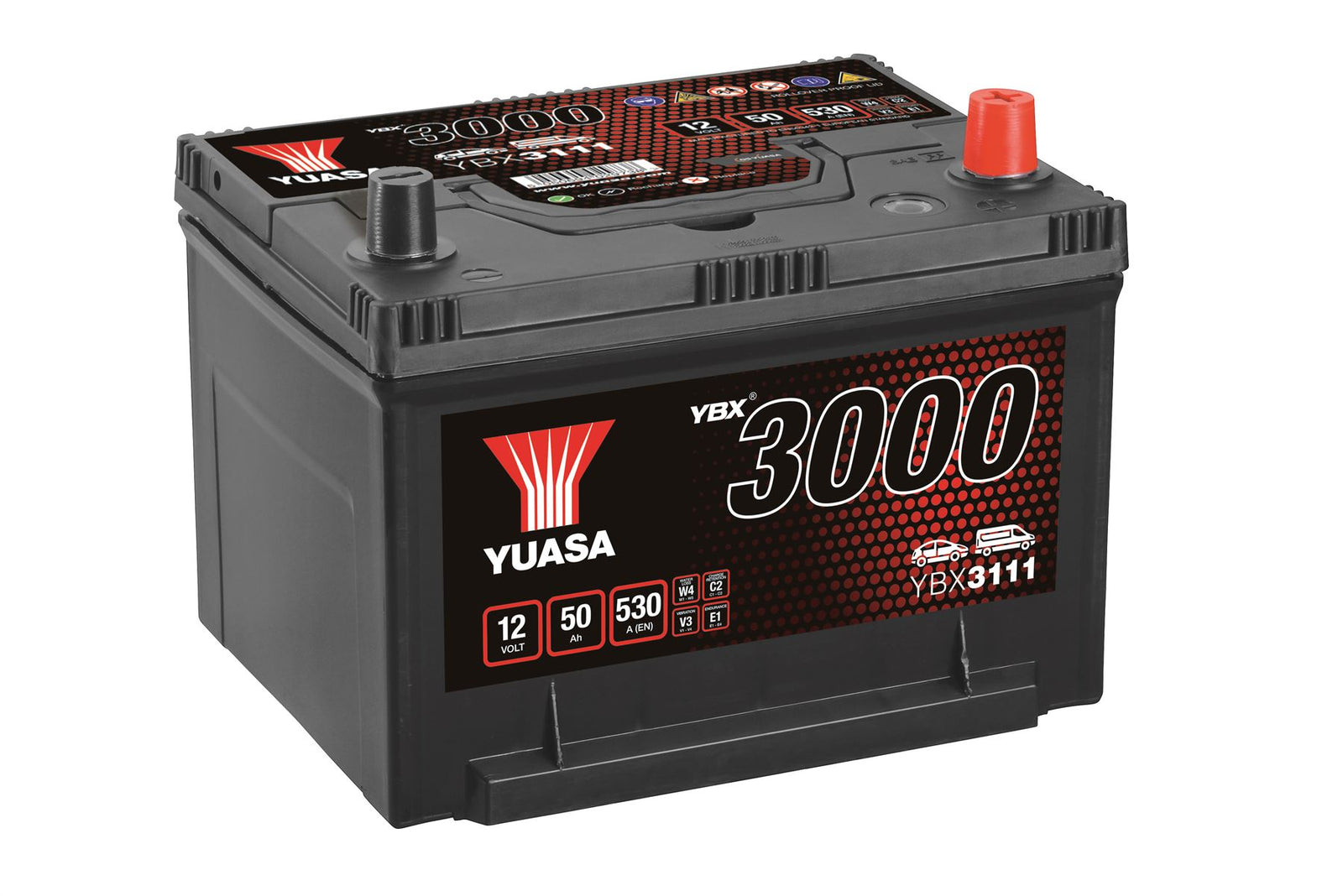 Yuasa YBX3111 SMF Battery US BCI Group
