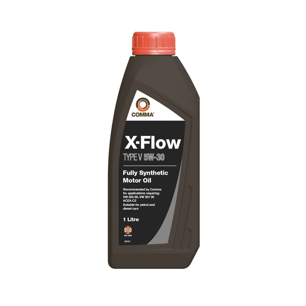 Comma - XFV1L  - X-FLOW TYPE V 5W30  Fully synthetic motor oil  1L