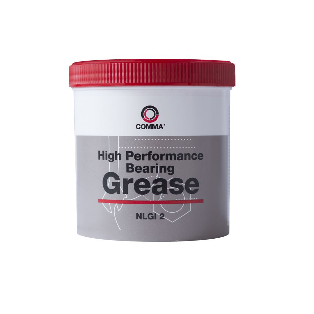 Comma - BG2500G  - HIGH PERFORMANCE BEARING GREASE  NLGI: 2 500G