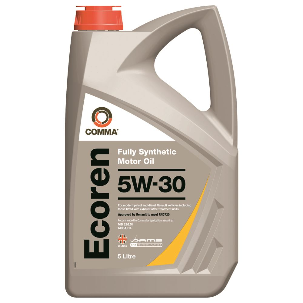 Comma - ECR5L  - ECOREN 5W30 Fully synthetic motor oil ACEA C4 5L