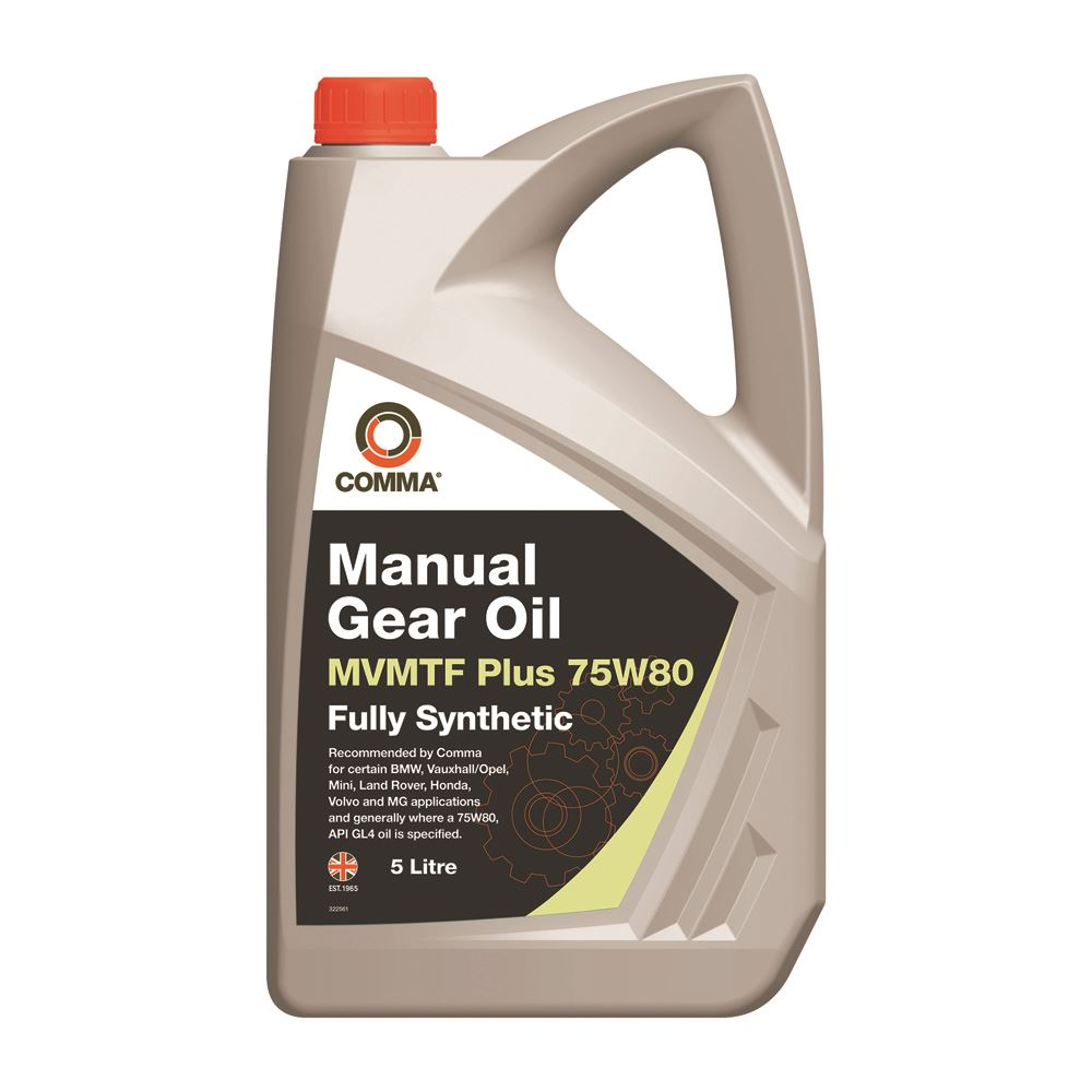 Comma - MVP75805L  - MVMTF PLUS 75W80 Transmission fluid Gear Oil 5L