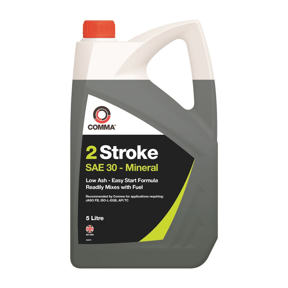 Comma - TST5L  - TWO STROKE OIL suitable for oped, Motrobike API TC 5L