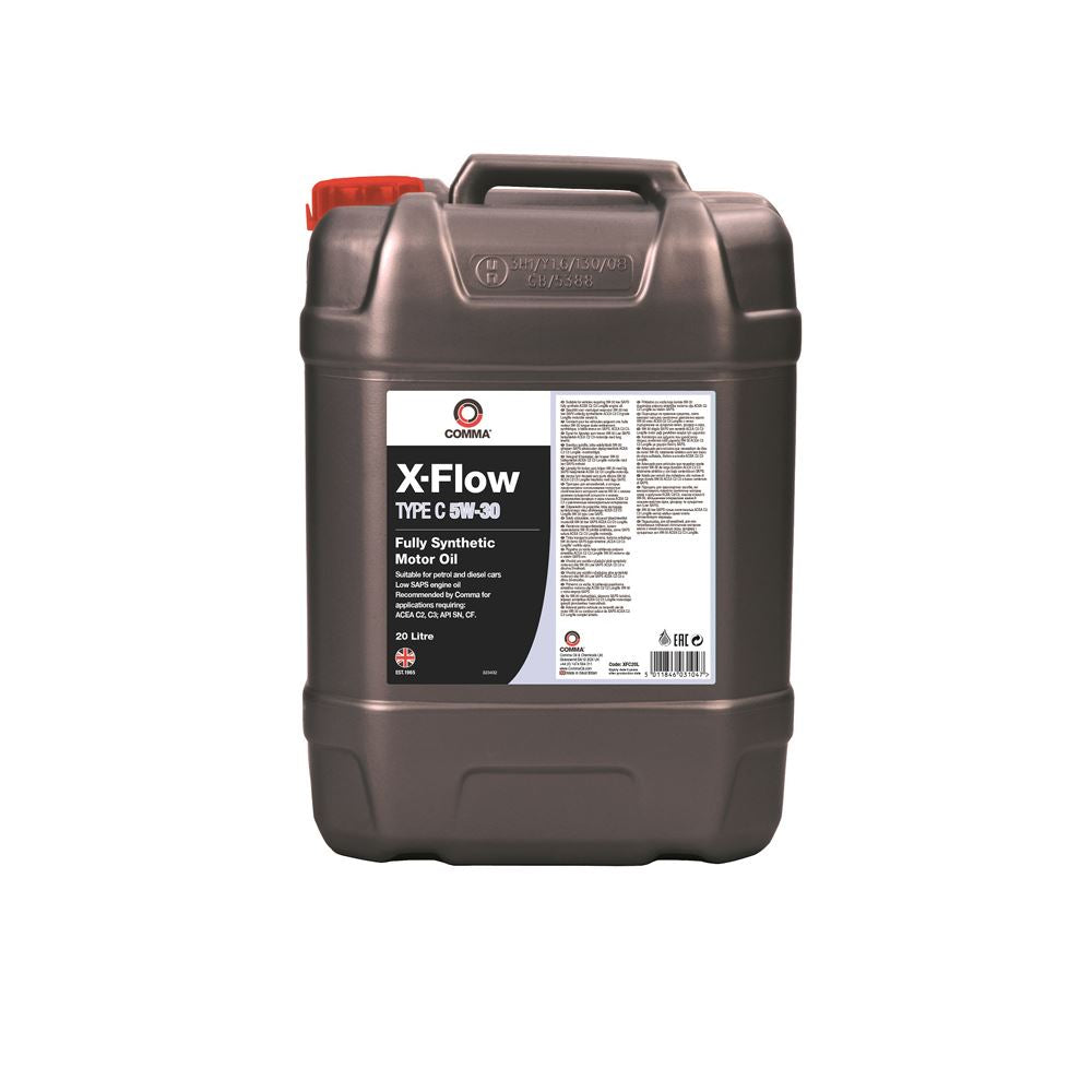Comma - XFC455L - Fully Synthetic low saps 5W30 ACEA C2, C3 Longlife Oil 20L