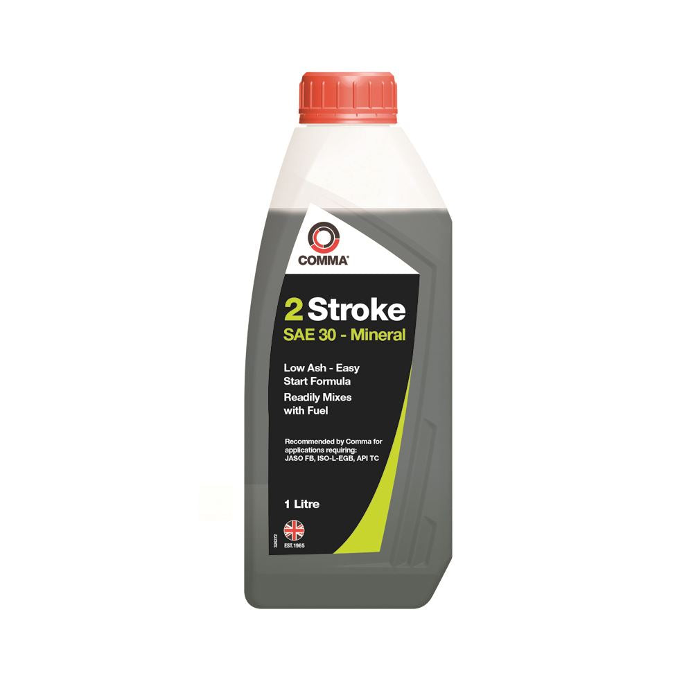 Comma - TST1L  - TWO STROKE OIL suitable for Moped, Motorbike API TC 1L