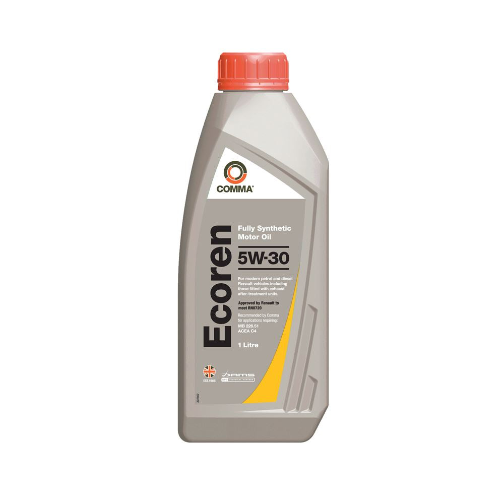 Comma - ECR1L  - ECOREN 5W30 Fully synthetic motor oil ACEA C4 1L