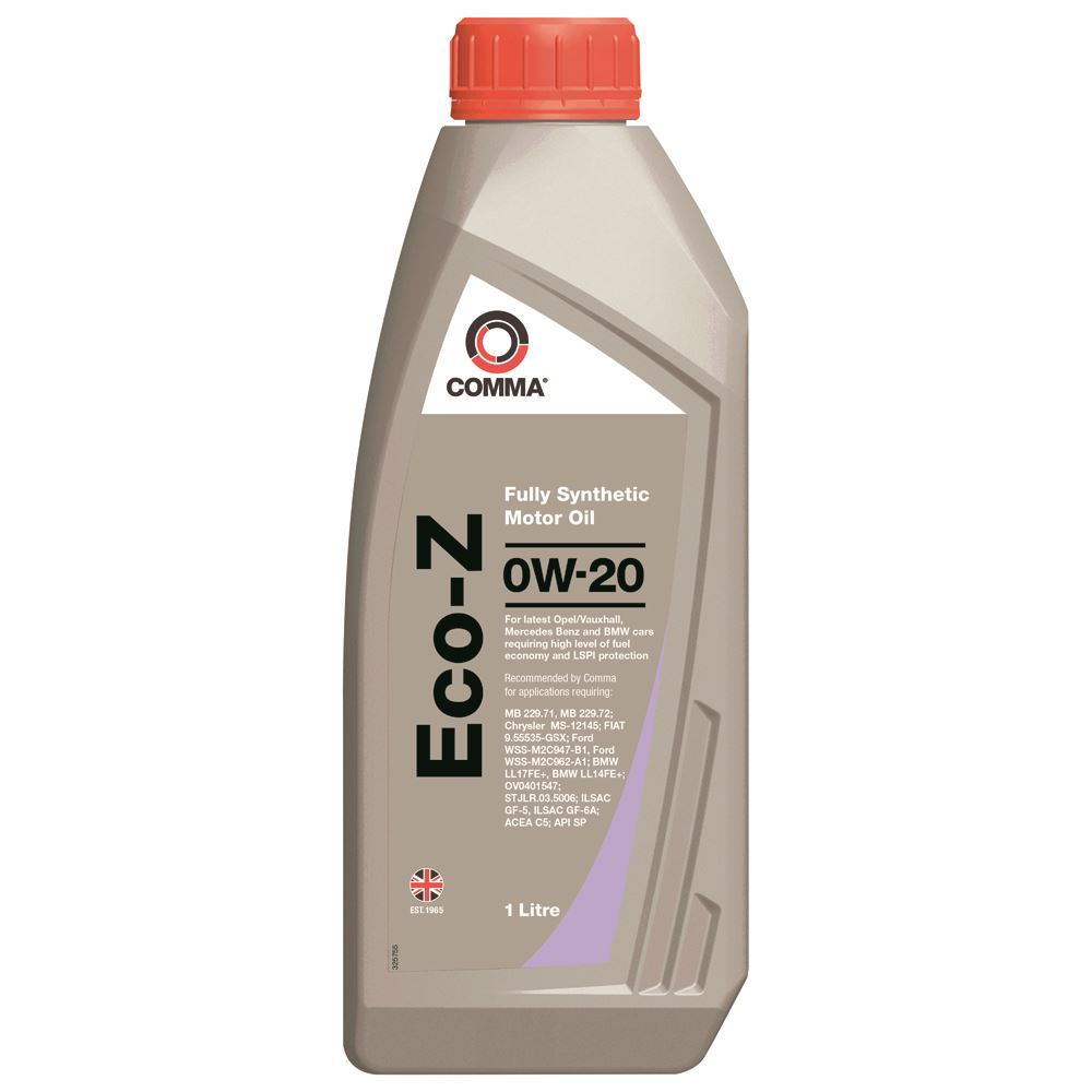 Comma - ECOZ1L  - ECO-Z 0W20 Fully synthetic motor oil ACEA C5 1L