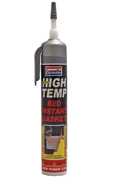 Granville High Temprature Instant Gasket Red (up to 650�F) Powercan 200ml 0456