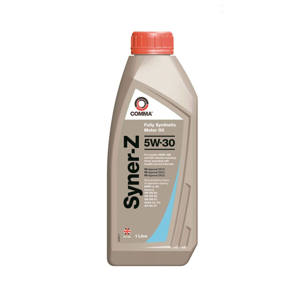 Comma - SYZ1L  - SYNER-Z 5W30 Fully synthetic motor oil ACEA C3 1L