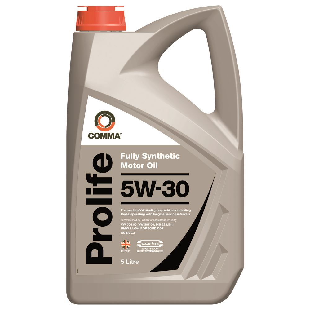 Comma - PRO5L  - PROLIFE 5W30 Fully synthetic motor oil ACEA C3 5L