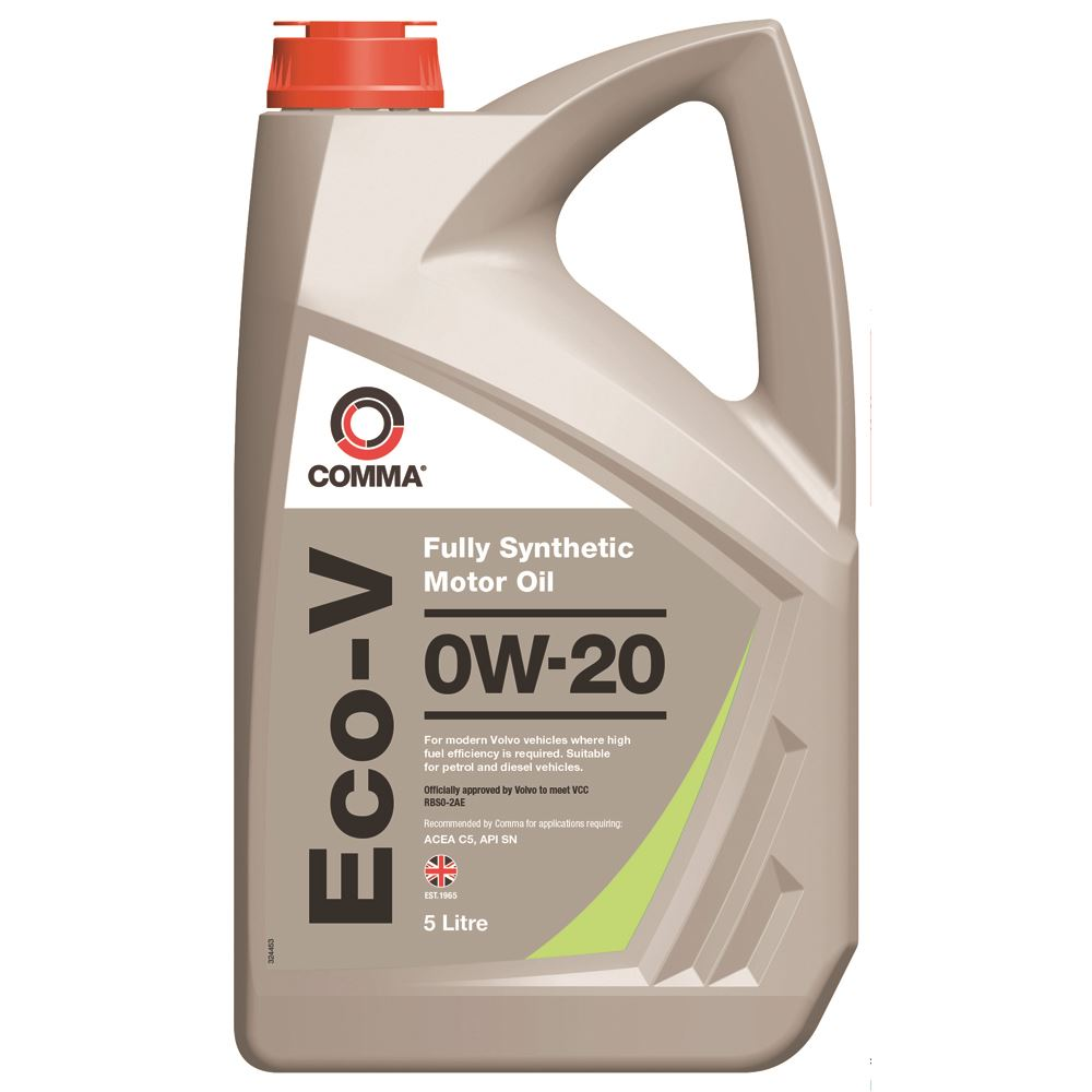 Comma - ECOV5L  - ECO-V 0W20 Fully synthetic motor oil ACEA A1/B1 5L