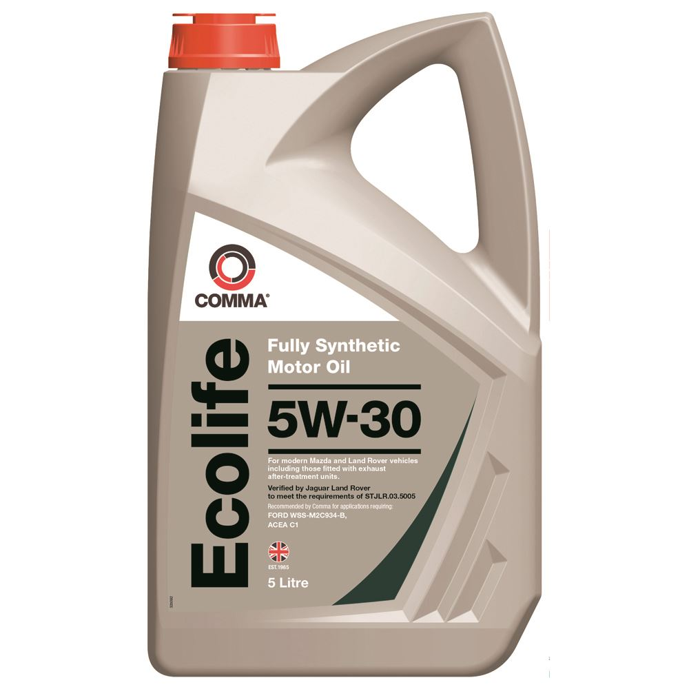 Comma - ECL5L  - ECOLIFE 5W30 Fully synthetic motor oil ACEA C1 5L