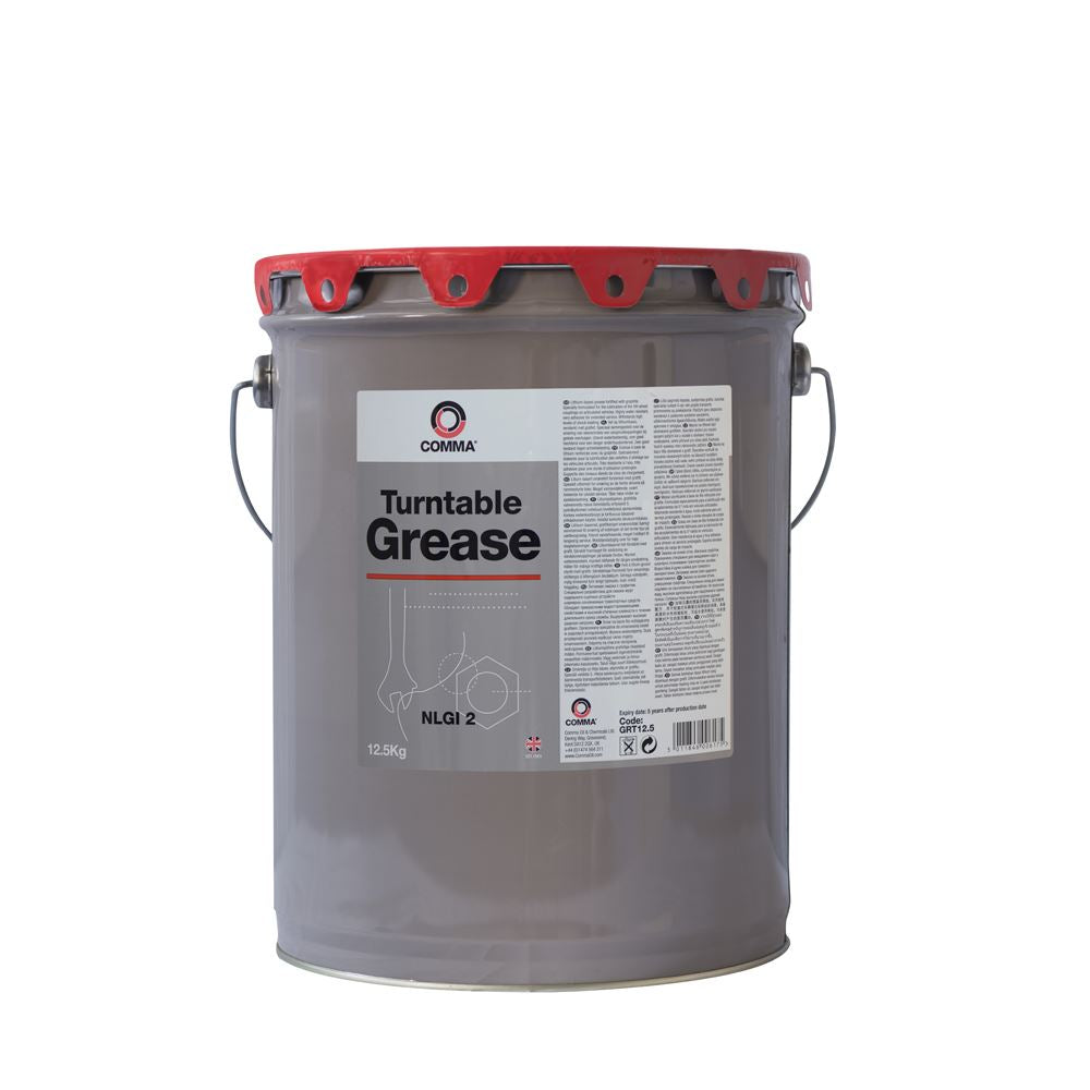 Comma  - GRT12.5 -  TURNTABLE GREASE For Heavy duty Applications 12.5KG