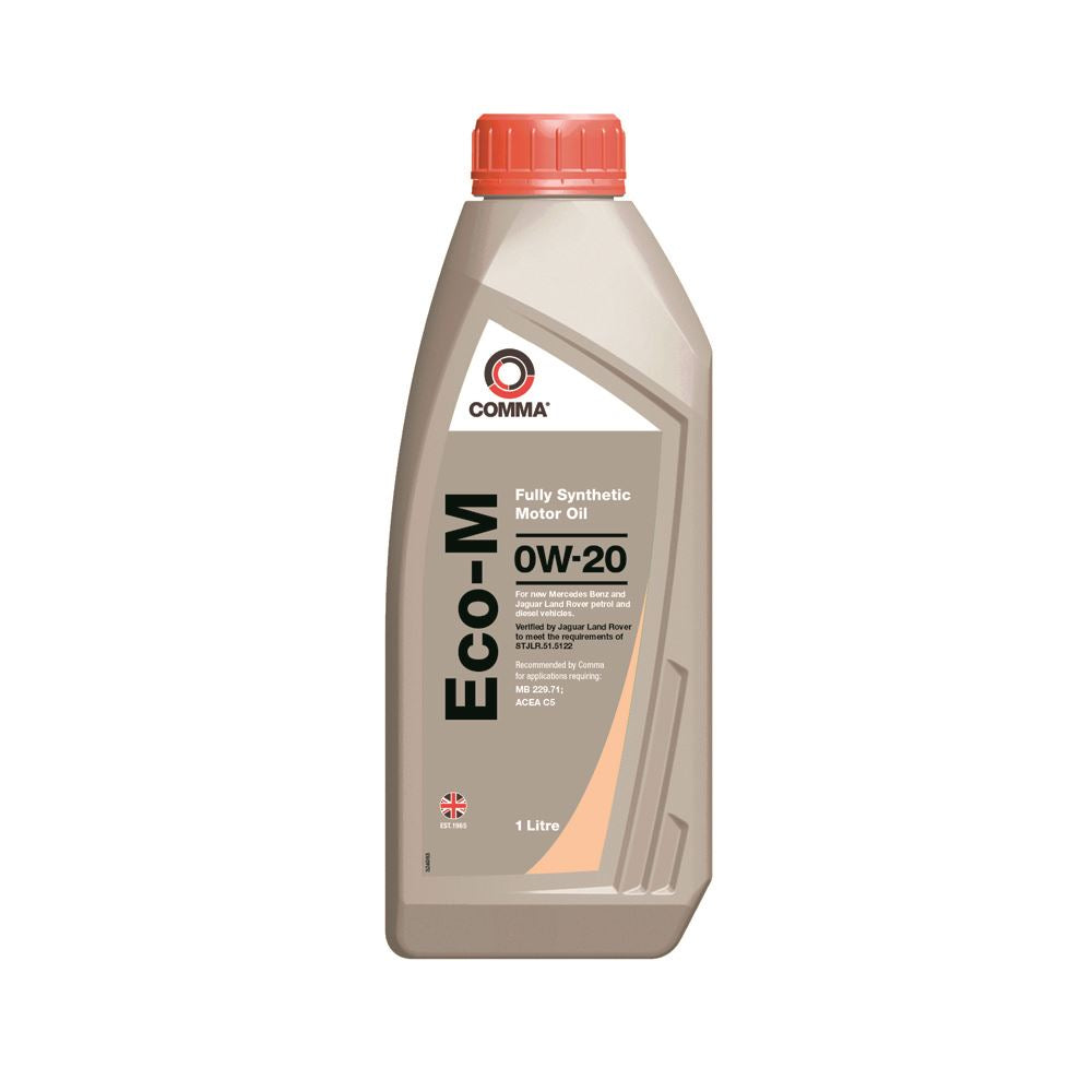 Comma - ECOM1L  - ECO-M 0W20 Fully synthetic motor oil ACEA C5 1L