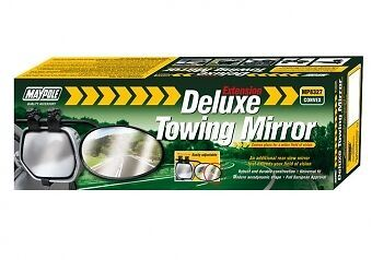 NEW Genuine Maypole MP8327 Universal Caravan Mirror for Cars