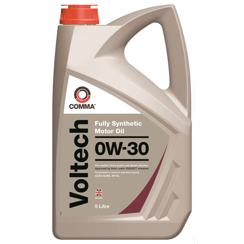 Comma - VTC5L  - VOLTECH 0W30 Fully synthetic motor oil ACEA A5/B5 5L