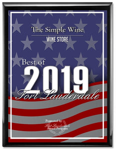 The Simple Wine Wins Best Wine Store of Fort Lauderdale 2019