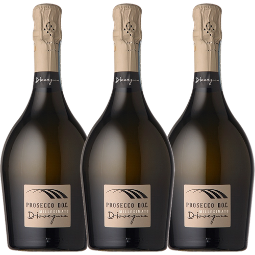Prosecco DOC Brut Dissegna Organic 3 pack - The Simple Wine