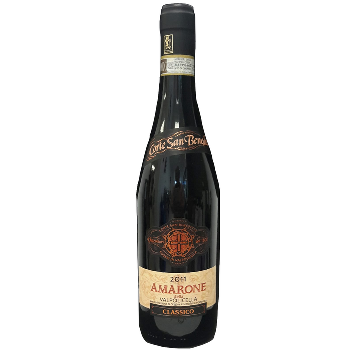 Amarone Della Valpolicella DOCG 2011 Corte San Benedetto - The Simple Wine