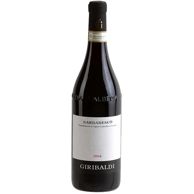 Barbaresco 2014 DOCG Giribaldi Organic Piemonte - The Simple Wine