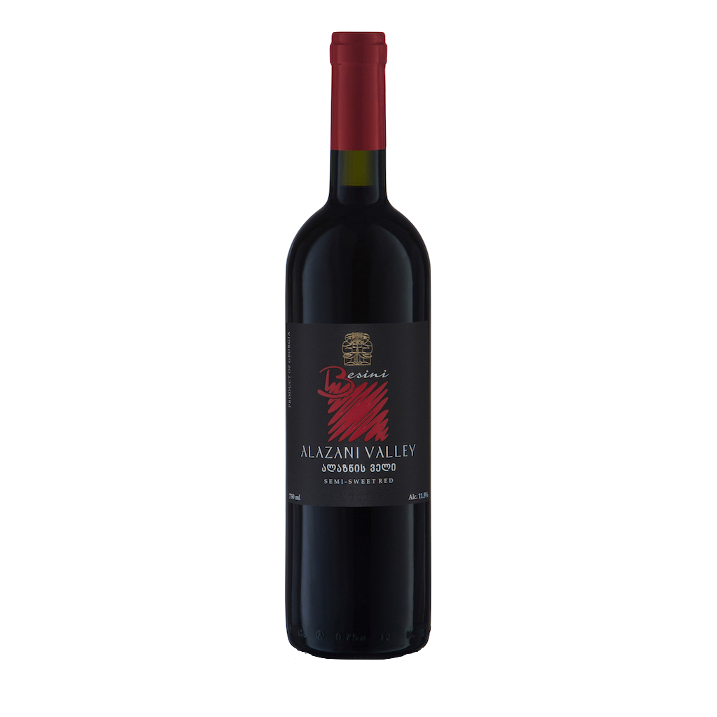 Alazani Valley Semi-Sweet Red - 12 bottles - The Simple Wine