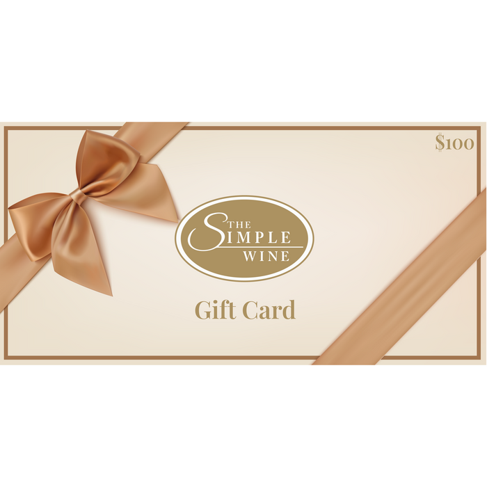 $100 Gift Card - The Simple Wine