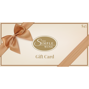 $50 Gift Card for $45 - The Simple Wine