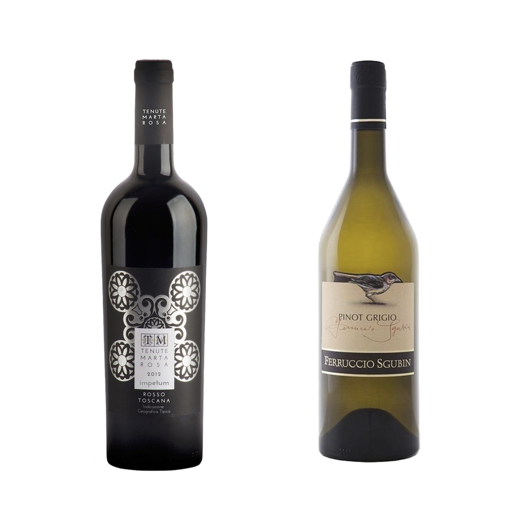 Super Tuscan and Pinot Grigio Bundle - The Simple Wine