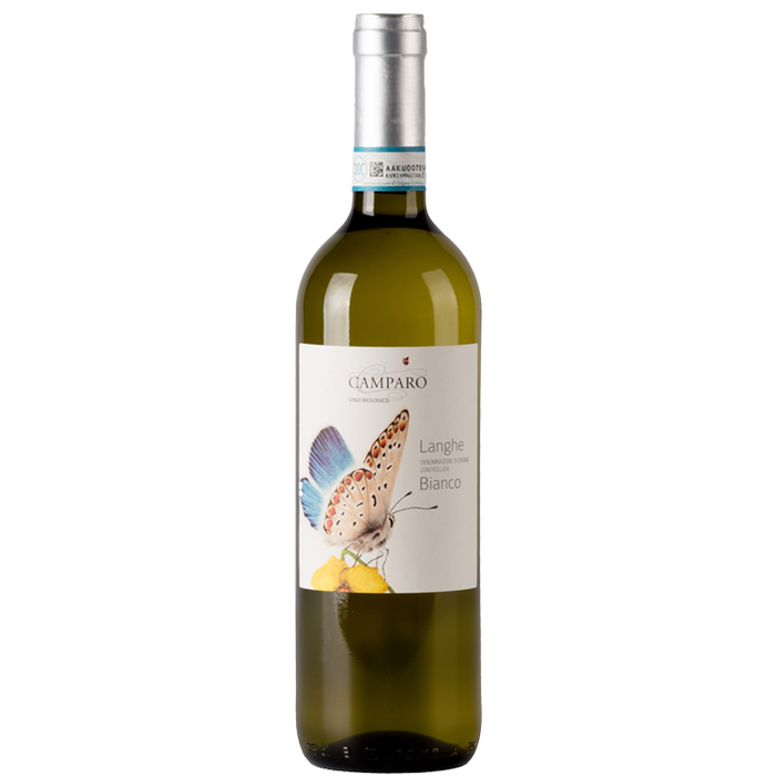 Langhe Bianco DOC Camparo Organic 2 pack - The Simple Wine