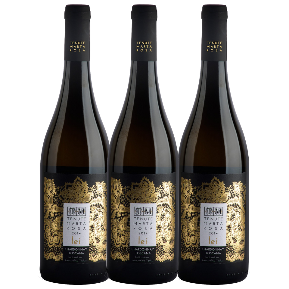 Lei Chardonnay Toscana 2014 - 3pack - The Simple Wine