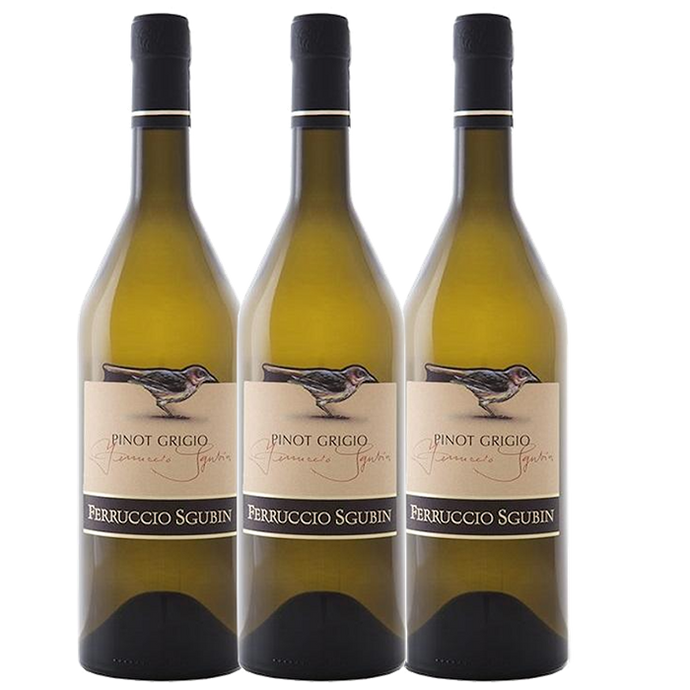 Pinot Grigio 3 pack, Collio DOC, Ferruccio Sgubin - The Simple Wine