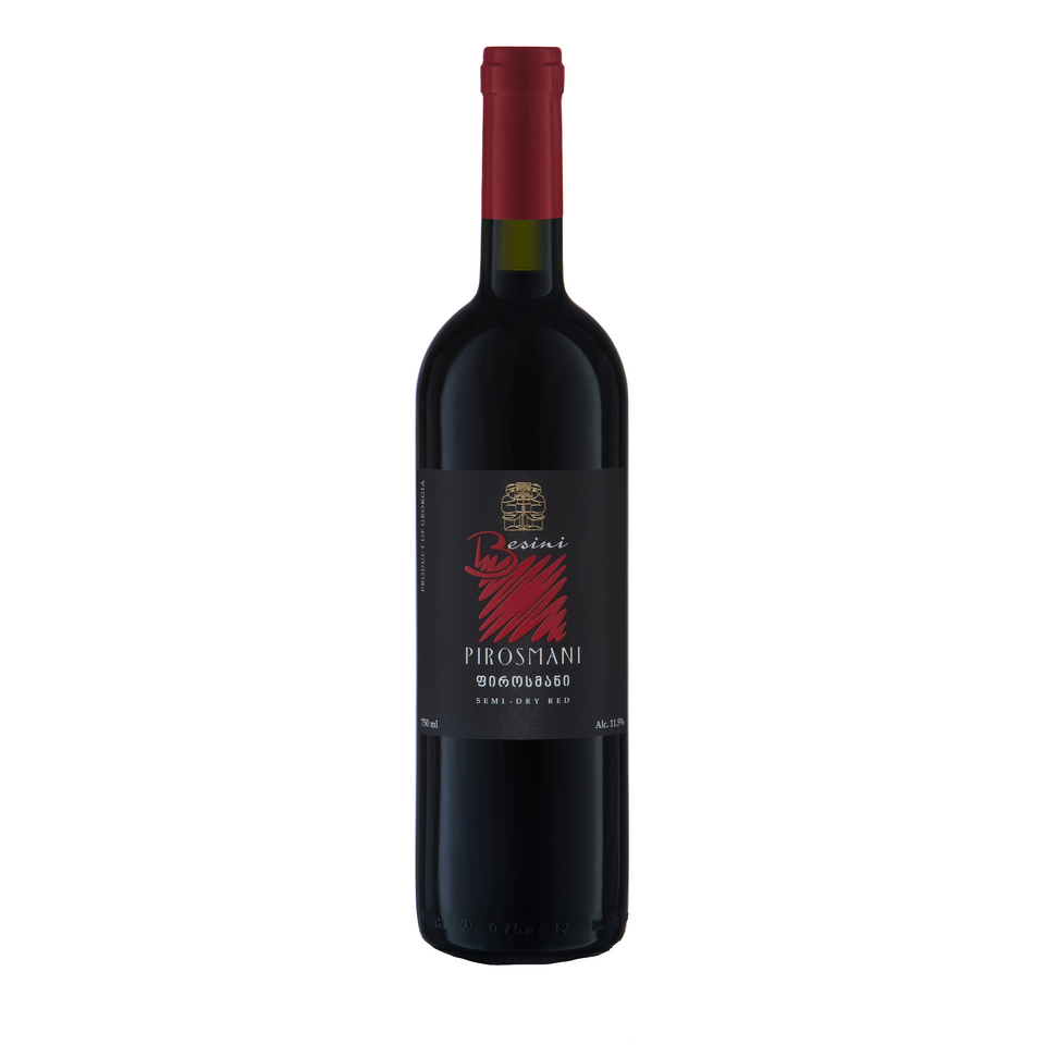 Pirosmani Semi Dry Red blend - The Simple Wine