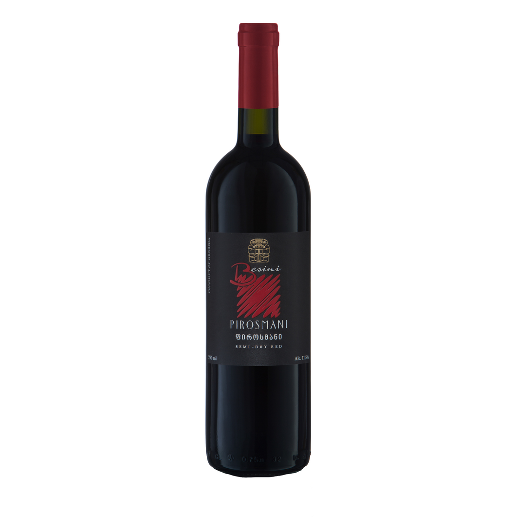 Pirosmani Semi Dry Red - The Simple Wine