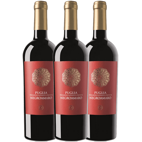 Negroamaro 3 pack, Puglia, FREE SHIPPING - The Simple Wine