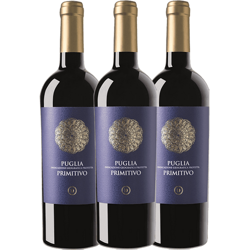 Primitivo 3 Pack, Puglia, FREE SHIPPING - The Simple Wine
