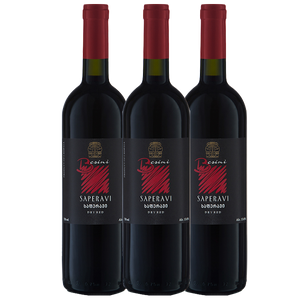 Saperavi 2016 - 3 pack, Besini - The Simple Wine