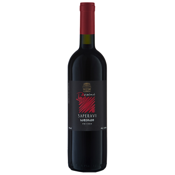 Saperavi 2016 Besini Dry Red - 12 bottles - The Simple Wine