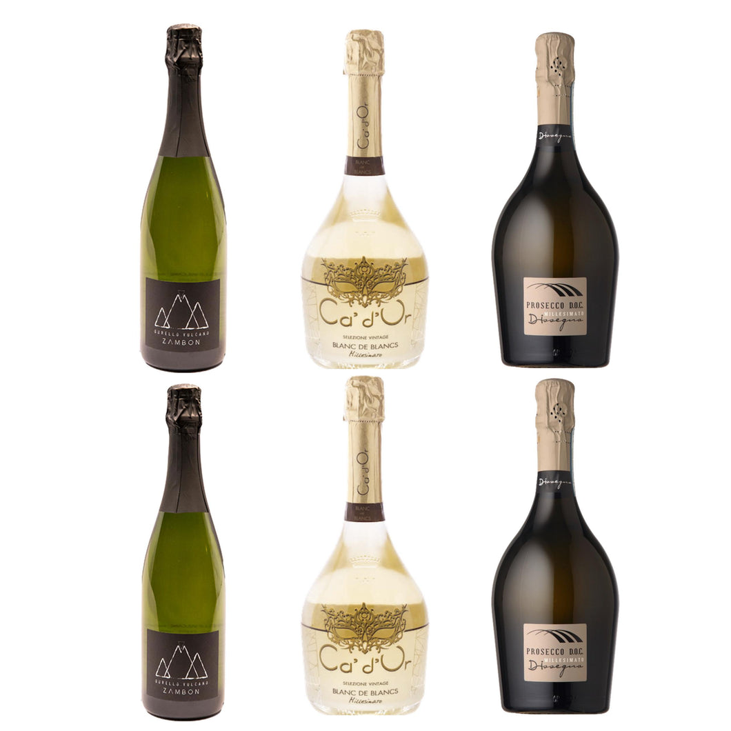 Sparkling Simple Wine Sampler 6 pack - The Simple Wine