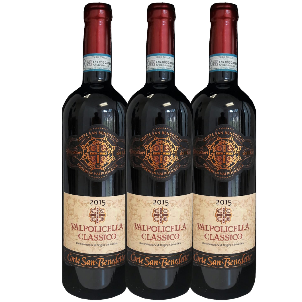 Valpolicella Classico DOC, 2015/2016 3 pack - The Simple Wine