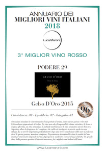 Gelso D'Oro 2017, (Italian Caymus) - The Simple Wine