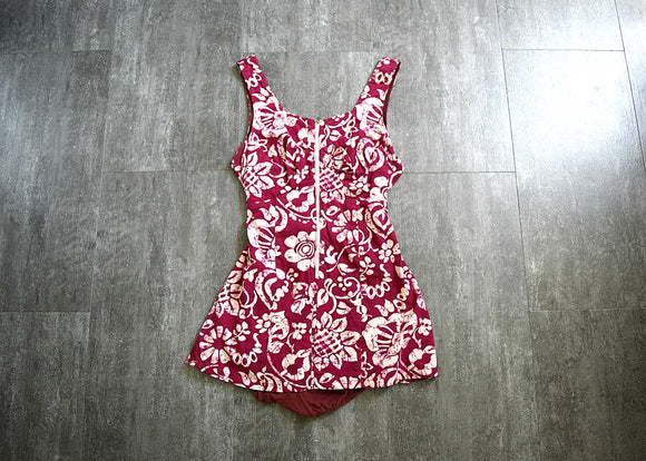 1930s 1940s playsuit . vintage 30s 40s beachwear