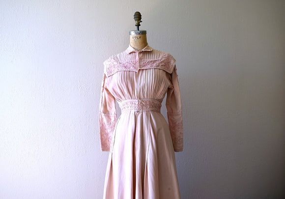 RESERVED . . . on layaway . Antique Edwardian duster