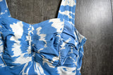 1960s swimsuit . vintage 60s volup bathing suit