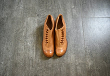 Load image into Gallery viewer, Edwardian shoes . antique leather shoes